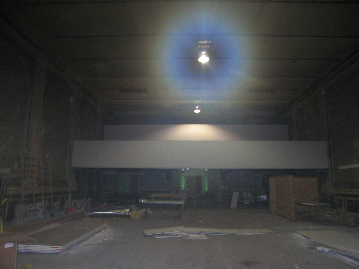 Construction update for Balcony origin